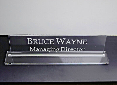 31x11cm Executive Personalised Office Wall Name Plate