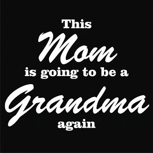 Grandma T Shirt Mommy To Be Shirt Grandma Reveal Tee Baby Shower