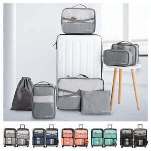 7Pc-Waterproof-Travel-Storage-Bag-Clothes-Luggage-Packing-Cube-Organizer-Suitcas