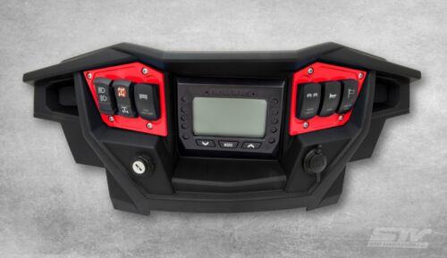 2017 Polaris RZR XP 1000 Turbo Red Dash Switch Panel