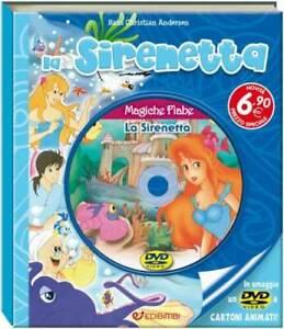 Libri-Magiche-Fiabe-La-Sirenetta-Libro-Dvd