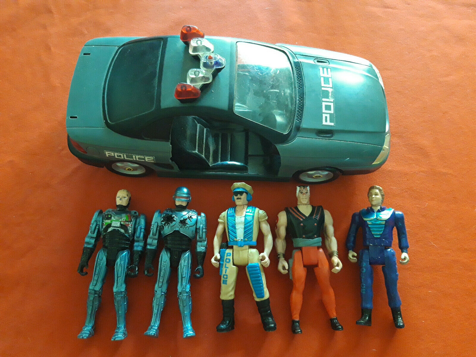Bündel 5x Robocop + Car Lewis Head-Hunter Orion 1988 89 94 Vintage Figures