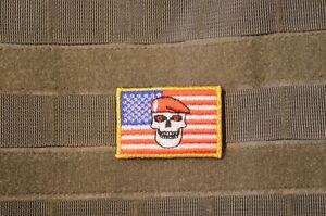 Afg-Pak Jsoc Spéciale Guerre Ssi Insignes Velkrö Patch : Sfg Béret Crane
