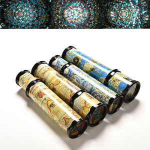 1-X-Traditional-Rotatable-Kaleidoscope-Education-Learning-Puzzle-Toy-Kids-new