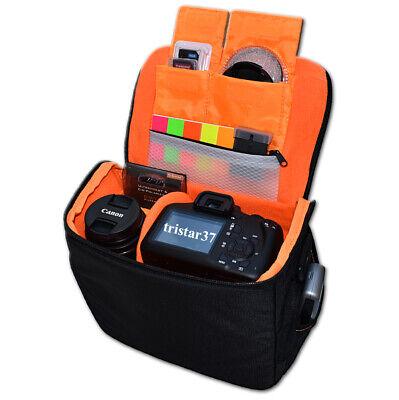 Fototasche f Canon EOS 800D Umhänge-Tasche Kamera Schutz Zubehörtasche Colt H