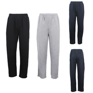 Mens-Regular-Fit-Drawstring-Sweat-Pants-Track-Suit-Sports-Casual-Trousers-Jogger