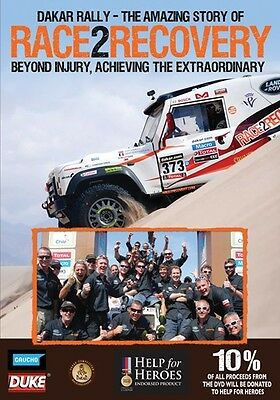 Dakar Rally - Race2Recovery (New DVD) Help for Heroes Endorsed product