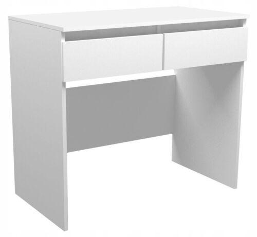 Schreibtisch B008 Arbeitstisch PC-Tisch Weiß Schminktisch modernes Design
