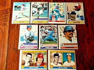 VINTAGE CARD LOT ALL RARE FRENCH OPC O-PEE-CHEE 1979 TOM ...