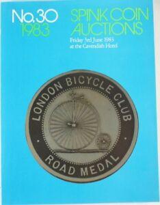 Spink-Coin-Auctions-NO-30-Jahr-1983-Muenzen-amp-Medaillen-Auktionkatalog-RAR-B6137