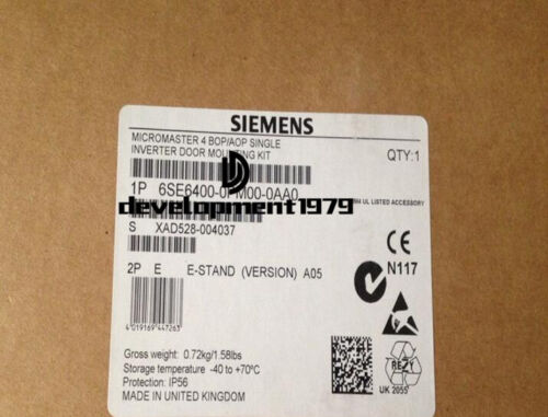 Siemens door mounting assembly new in box 6SE6400-0PM00-0AA0