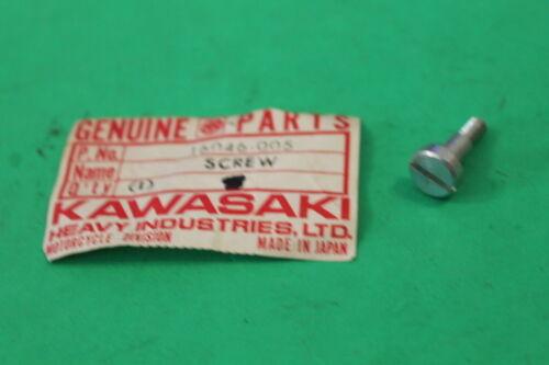 KAWASAKI NOS OEM CARBURETOR SCREW KZ 1000 650 1300 750 900 Z1 1977-83 16046-005