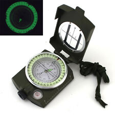 Military Compass Pouch Pocket Car Geology Vintage Hiking Survival Gear Army