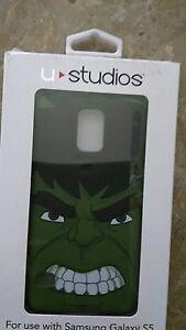 u studios marvel samsung galaxy s5 hulk face green new case | eBay