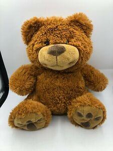 The-Petting-Zoo-Brown-Teddy-Bear-2011-Plush-Kids-Soft-Stuffed-Toy-Animal-Doll