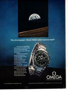 OMEGA-WATCH-PRINT-PROMO-AD-034-THE-CHRONOGRAPH-WOULD-NASA-SELECT-SECOND-BEST-034
