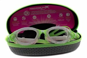 Zoggs Predator Flex Reactor Swimming Goggles Titanium Small - Swim (Womens)