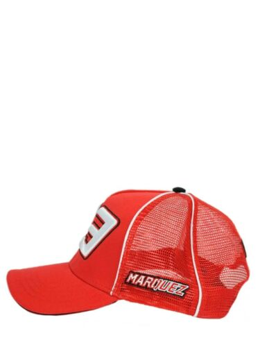 New Official Marc Marquez 93 Red Trucker/'s Cap   16 43030