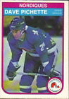1982 O-PEE-CHEE Dave Pichette #289 Hockey Card