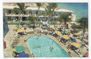 Image Is Loading Sham Norman Hotel Swimming Pool Miami Beach Florida