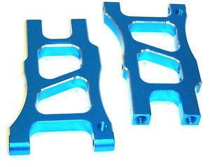 06042b 166021 1/10 Alliage Bras De Suspension Inférieur Arrière Bleu à Tout Prix