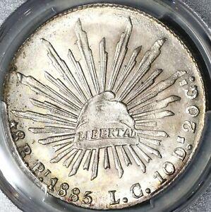 1885-Pi-LC-NGC-MS-63-Mexico-8-Reales-Potosi-Rare-Silver-Coin-POP-1-2-20090902C