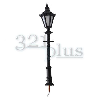 5 Stücke 125mm Modellbahnzug Laternenpfahl Straßenlaternen LED HO Maßstab