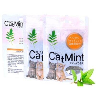 Cat Mint Natural Organic Premium Catnip Cat Mint Menthol Flavor Cat Treats Toy