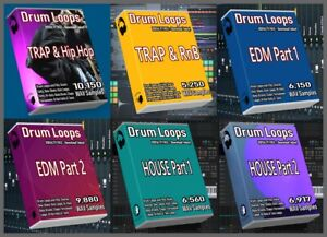 Details about Ultimate Drum Loops Pack Trap Drum Loops HipHop Beats House  Drum Loops EDM Drums