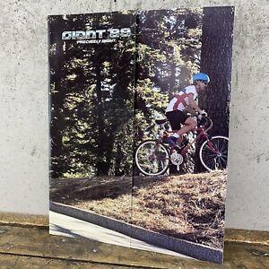 1989 Giant Bicycle Brochure Catalog Vintage Kashmir Kronos