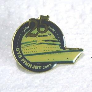 Transportation Passenger Liner Gts Finnjet Da Vinci Kingdom Helsinki Finland Pin Marine Badge To Assure Years Of Trouble-Free Service Maritime Plaques & Signs