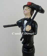 Wine Saver Bottle Stopper Handpainted Novelty Stoppers Chimney Sweep Gift Boxed