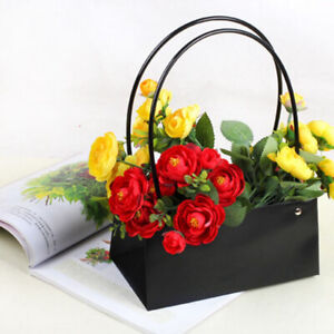 2Pcs-Bouquet-Flower-Boxes-Vases-Florist-Box-Plant-Aqua-Boxes-Water-Proof-G9A