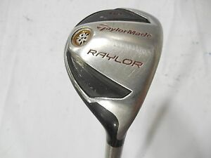 Details about Used Taylormade Raylor Hybrid 19* Reax 65 Gram Senior Flex