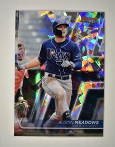 2020 Bowman's Best Base Atomic #64 Austin Meadows - Tampa Bay Rays