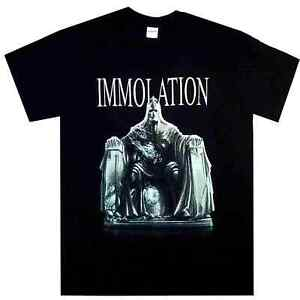 Immolation-Majesty-amp-Decay-Shirt-M-L-XL-Official-T-Shirt-Death-Metal-Band-Tshirt