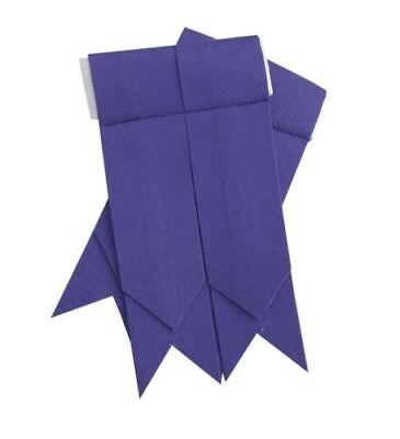 Capace Highland Kilt Lampeggia Plain Viola Kilt Sock Lampi Di Colore Porpora/kilt Lampeggia-