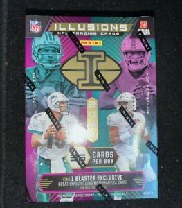 2020-Panini-Illusions-Football-Blaster-Box-New-SEALED-NFL-Herbert-Burrow-Tua