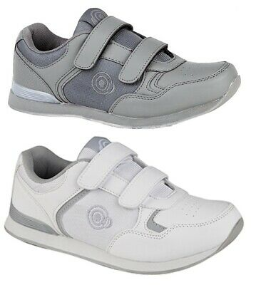 t839g lightweight touch /& close bowls shoes bowling trainers