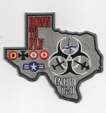 """USAF Patch 80th FLYING TRAINING WG, Flying Training Class 16-01, Euro-Nato 4.25"""""""