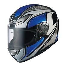 OGK KABUTO AEROBLADE3 MAVERICK WHITE BLUE M Medium  Helmet Japanese Model