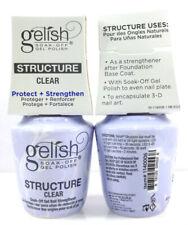 Gelish Soak-off GEL Nail Strengthener Structure Clear 0.5 Oz