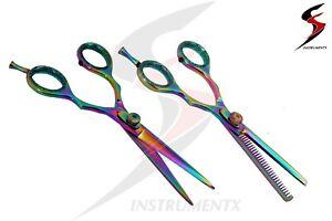 Titanium-Hairdressing-Scissors-Barber-Scissor-Salon-Hair-Cutting-Razor-Sharp-SS