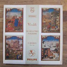 I MUSICI Vivaldi: le quattro stagioni LP FELIX AYO Hol. PHILIPS HI-FI stereo