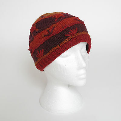 Funky Hand Knitted Invernale Di Lana Crazy Cucito Cappello Beanie Unisex Csb8-