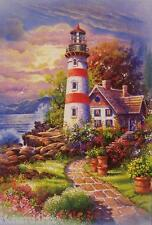 Jigsaw puzzle Lighthouse Cozy Cottage 500 piece NIB