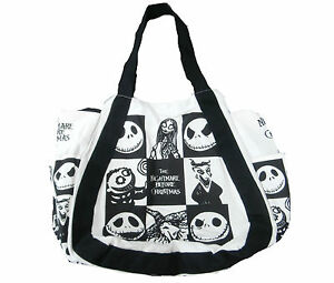 The Nightmare Before Christmas Handbag Tote Bag Jack Skellington ...