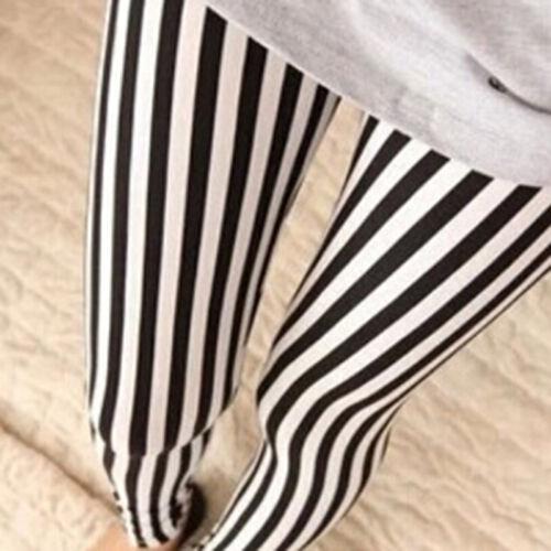 Women High Waist Skinny Stretch Slim Fit Pencil Pants Trousers Leggings L