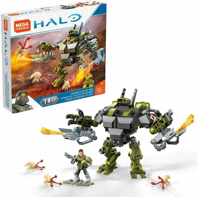 Mega Construx HALO Warzone 232 Pieces - Kinsano Cyclops Raid Set GCM43
