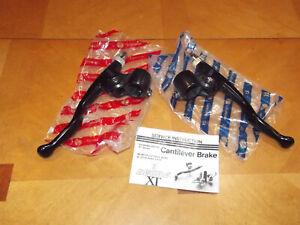 NOS 1 st gen Shimano Deore XT brake levers BLM-700 Deer Head